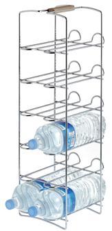 Flaschenständer mit Fuß für 12 Flaschen