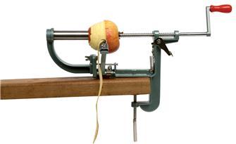 Apfelschäler und -entkerner mit Schraubzwinge