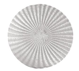 Runde Pressmatte ohne Loch 30 cm