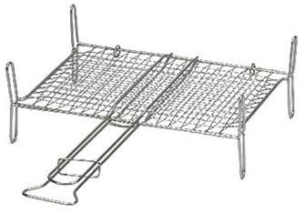 Doppel-Grillrost 45 x 40 cm