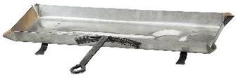 Tropfschale aus Edelstahl, 68 cm