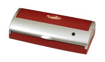 Vakuumverpackungsmaschine für den Alltagsgebrauch, rot, Reber