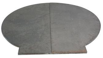 Boden für Holzbackofen 71cm