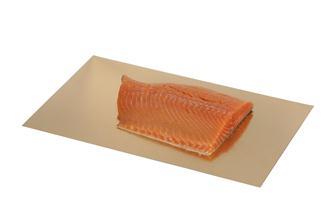 Gold- oder silberfarbene Pappunterlage für Vakuumbeutel, 30x50