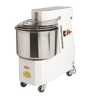 Elektrische Bäckereiknetmaschine mit 24-Liter-Edelstahlkessel