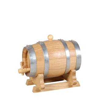 Kleines Eichenfass, 2 Liter