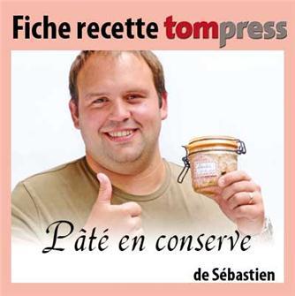 Rezept für Pastete im Glas von Sébastien