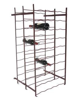 Doppeltiefes Weinregal 100 Flaschen