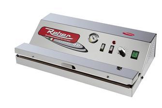 Vakuumierer aus Edelstahl, Reber EcoPro 40