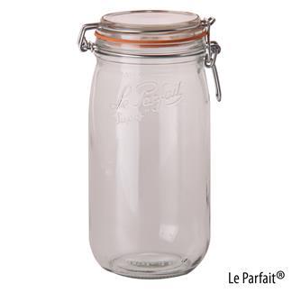 Le Parfait® Einweckglas, 1,5 Liter, 6 Stück