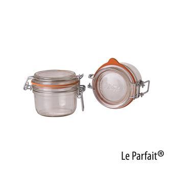 Le Parfait® Einmachgläschen, 125 Gramm, 6 Stück