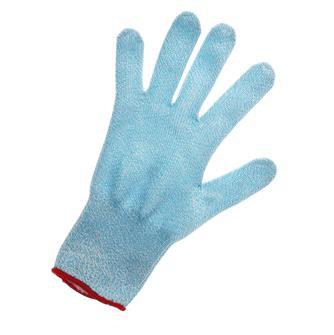 Schnittschutzhandschuh, Größe 9, rote Borte