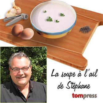 Rezept für Knoblauchsuppe von Stéphane