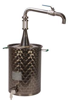 50 Liter Dekanter-Ölfass mit Flüssigkeitsablassventil oben
