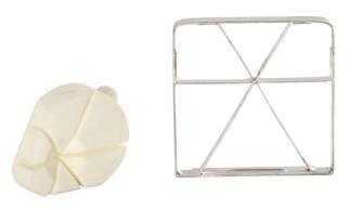 Schneideinsatz und Presse mit 6 Segmenten für Profi-Pommes-Frites-Schneider
