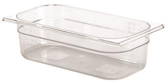 Gastrobehälter BPA-frei, GN1/3, Höhe 10cm, aus Copolyester