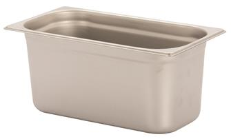 Gastronorm-Behälter Edelstahl, GN1/3, Höhe 15cm, EN631