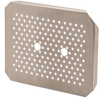 Edelstahl-Einlegeboden für Gastrobehälter GN1/2, EN631