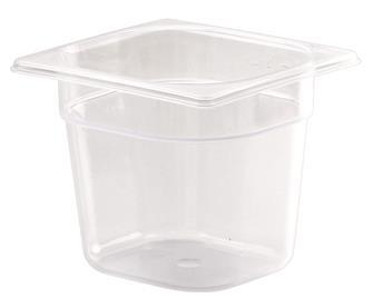 Gastrobehälter GN1/6, Polypropylen, Höhe 15cm