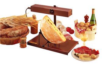 Raclette-Ofen, ½ Käse