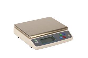 Elektronische Waage aus Edelstahl, 10 kg