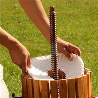 Runde Pressmatte 30 cm, mit Schlitz