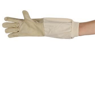 Imkerhandschuhe aus Leder, Größe 09