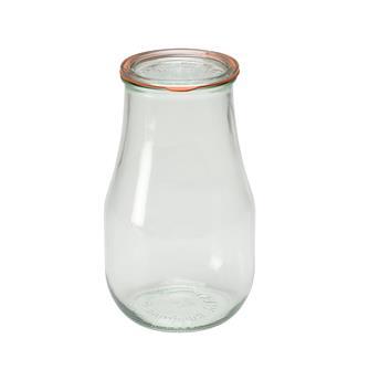 Weck-Einmachglas, 2,5 Liter, 4 Stück