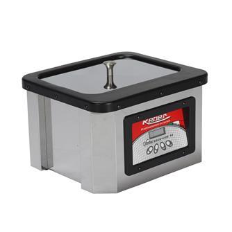 Vakuumgarer, Edelstahl, 10 Liter, Gourmet Reber
