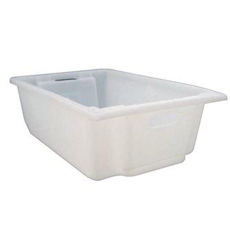 Kiste für Lebensmittel, stapelbar, 30 Liter