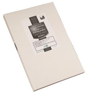 500 Blätter Backpapier mit 40 x 60 cm.