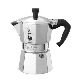 Italienischer Espressokocher, Aluminium, 2 Tassen