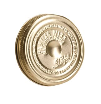 Verschluss Familia Wiss® 100 mm in 6er-Packung.