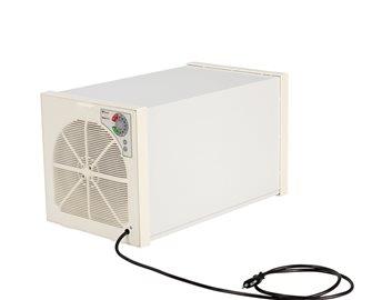 Dörrgerät mit Thermostat und Einschiebevorrichtung für 5 Teller
