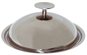 Couvercle cloche Baumstal inox 28 cm
