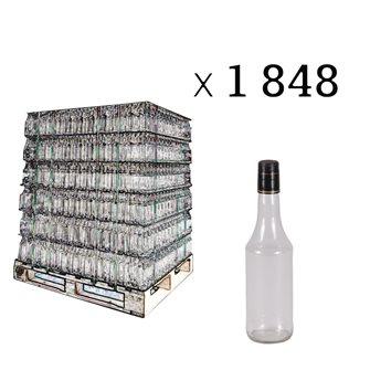 Sirupflaschen 50 cl, Palette mit 1848 Stück.