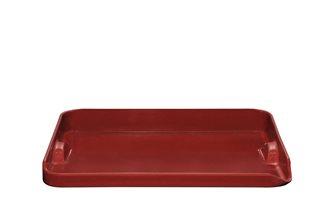 Rote Keramikplatte Grand Cru Emile Henry