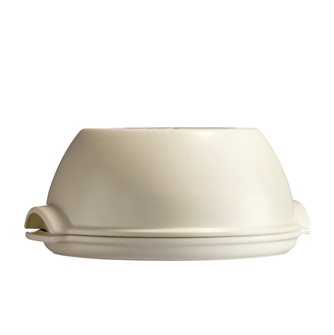 Set pain maison rond en céramique blanc Lin Emile Henry