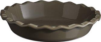 Plat à clafoutis céramique gris Silex Emile Henry