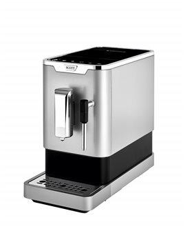 Espressomaschine mit Kaffeemühle und Dampfdüse