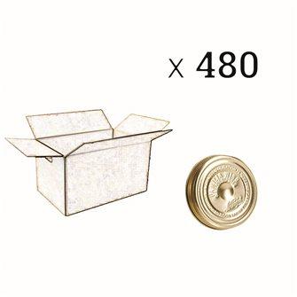 Verschluss Familia Wiss® 82 mm, Packung mit 480 Stück