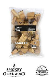 Mandelholz Chunks für Grill, 5 KG