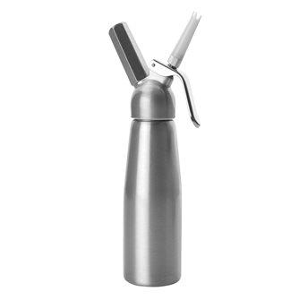 Siphon à crème 1 litre laqué en aluminium