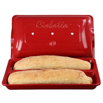 Moule à pain ciabatta en céramique Grand Cru Emile Henry EXCLU