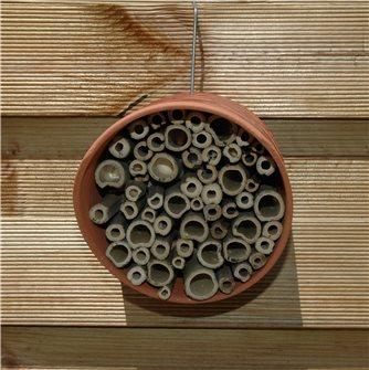 Hôtel pour abeilles solitaires et bourdons