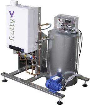250 l / Stunde Gassaftpasteur mit Pumpe